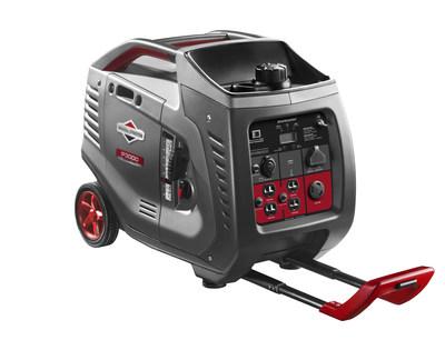 Smooth and quiet power: The new Briggs & Stratton 3kW PowerSmart Series inverter generator. (PRNewsFoto/?Briggs & Stratton Corporation)