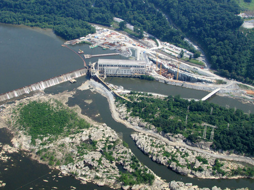 Expansion is nearly complete at the Holtwood Hydroelectric Plant, which is using two Kaplan Turbines Manufactured by Voith. The Kaplan Turbine was patented 100 years ago this summer. Viktor Kaplan - the inventor of the Kaplan Turbine - was closely associated with Voith.  (PRNewsFoto/Voith)