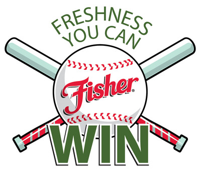 "Fisher(r) Nuts ""Freshness You Can Win"" logo.  (PRNewsFoto/Fisher Nuts)"