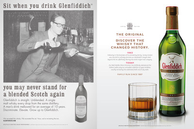"""Glenfiddich The Original: a unique whisky expression produced to celebrate the distiller's 1963 Straight Malt. Recipe re-created by Malt Master Brian Kinsman from the original Glenfiddich ledger notations."""