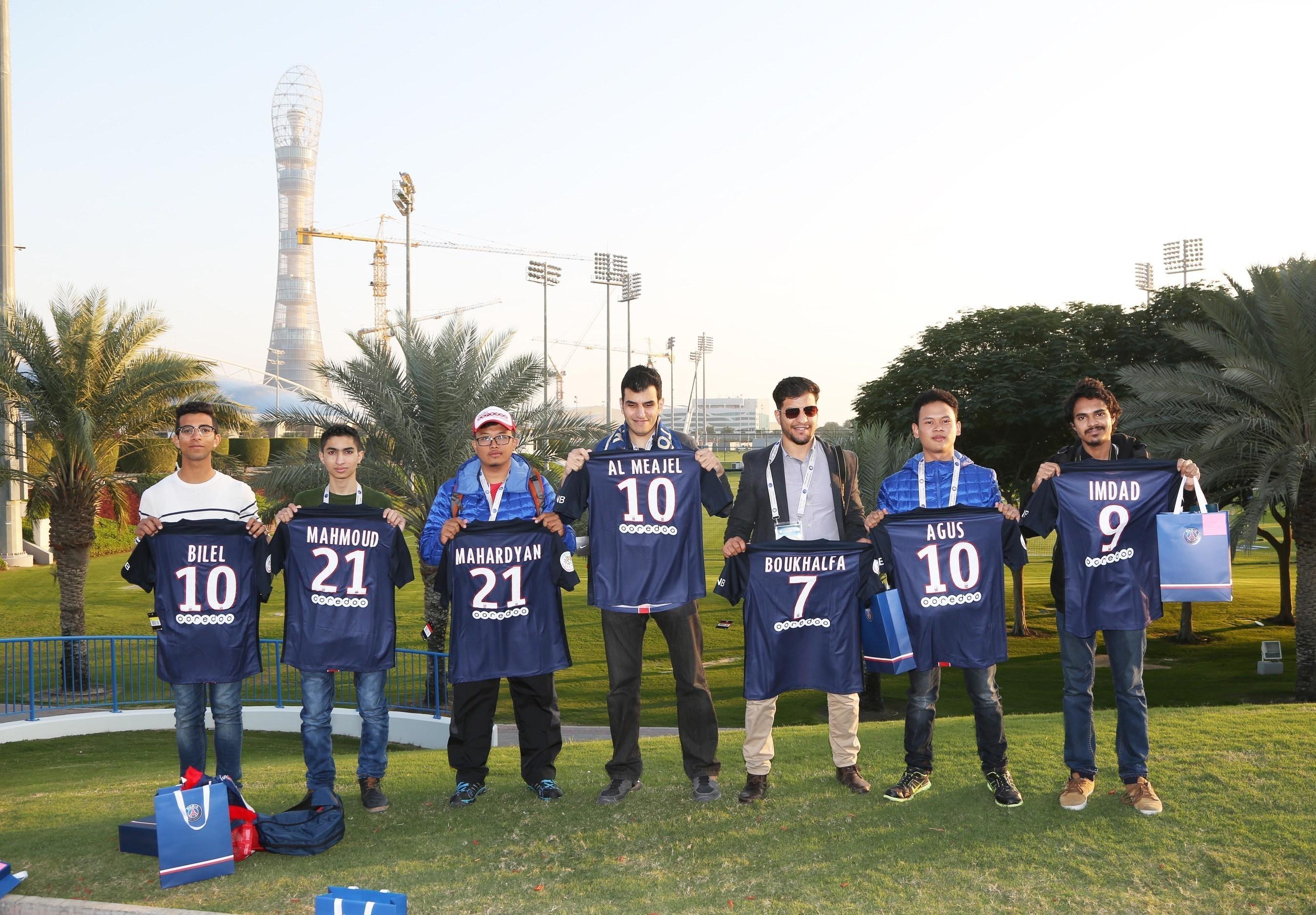 Ooredoo Fans Do Wonders Winners
