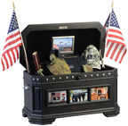 Freedom Life Chests to be donated to combat injured troops and veterans around the United States.