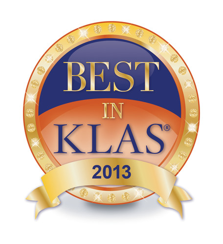 2013 Best in KLAS.  (PRNewsFoto/Royal Philips)