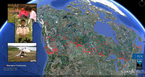 Pew's Boreal Forest Tour Showcased at Google Earth Canada Launch