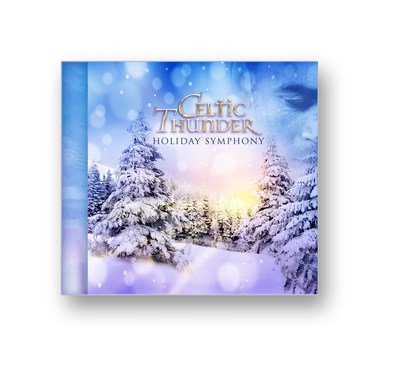 "Celtic Thunder ""Holiday Symphony"" will be available on Monday, October 27. (PRNewsFoto/Legacy Recordings)"