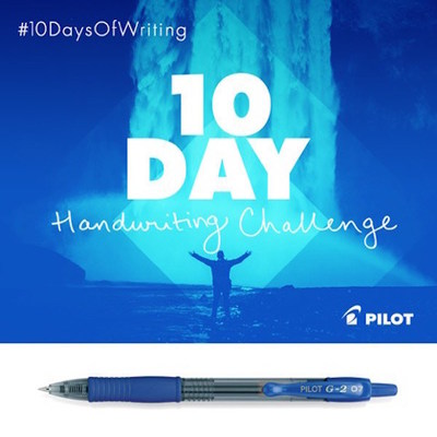 Pilot Pen Celebrates National Handwriting Day, Hightlighting The Written Word's Impact On Everyday Life