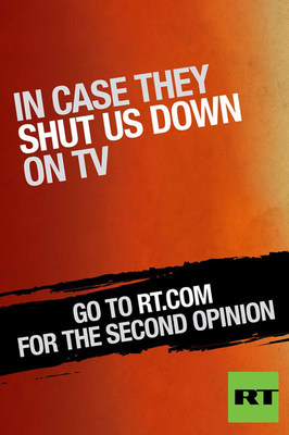 "RT's 2014 ""Second Opinion"" Ad Campaign Kicks Off In New York"