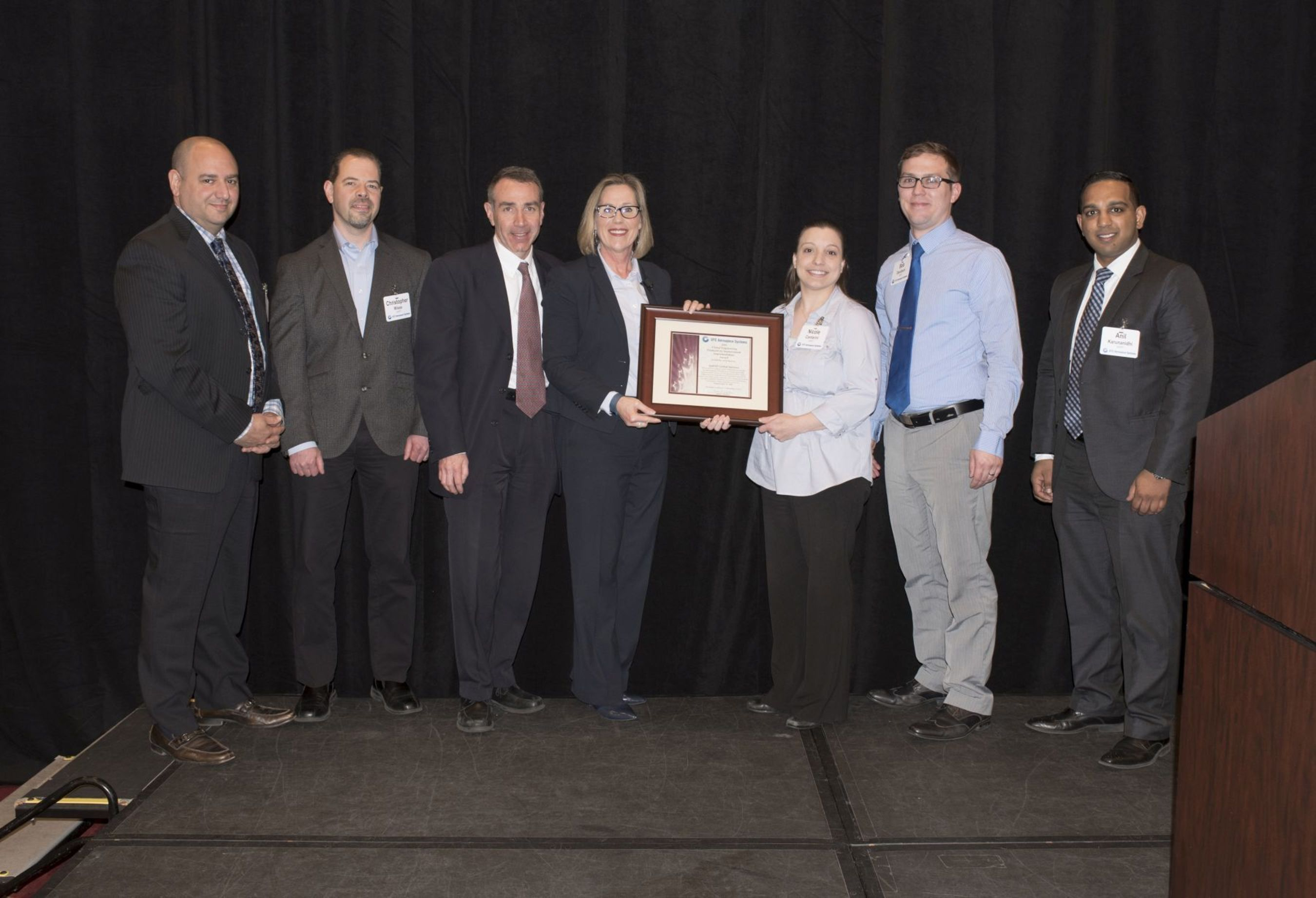 QuEST Global Wins Global Engineering Productivity Improvement Implementation Award From UTC Aerospace Systems