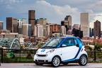 car2go Announces 15,000 members in Denver.  (PRNewsFoto/car2go North America LLC)