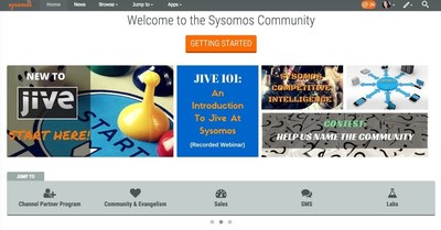 Fast-growing @Sysomos selects @jivesoftware to engage and align globally dispersed workforce