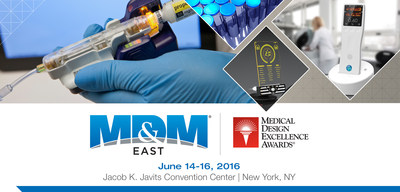 MD&M East partners with MedTech Association for New York Medtech Week  |  June 14-16, 2016 • Jacob K. Javits Convention Center • New York, NY