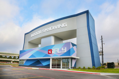 iFLY Houston at the Woodlands represents one of iFLY's latest generation vertical wind tunnels.