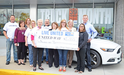 As part of an ongoing partnership with the Fond du Lac Area United Way, Holiday Automotive looks to raise $35,000 toward the nonprofit's ultimate goal of $760,000.