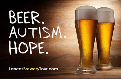Beer. Autism. Hope. Rare Brain Films launches campaign for Lance's Brewery Tour.  (PRNewsFoto/Rare Brain Studios)