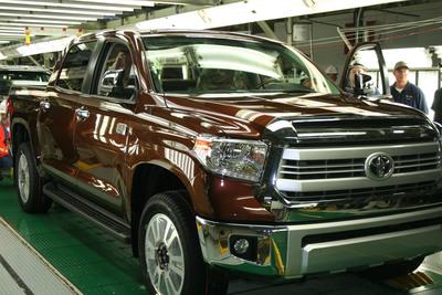 Toyota debuts one millionth truck at 2013 Miami International Auto Show.  (PRNewsFoto/Toyota)