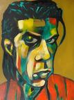 """Nick Cave"" By Todd Marinovich."