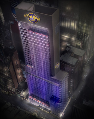 First Look: Official Rendering of Hard Rock Hotel New York