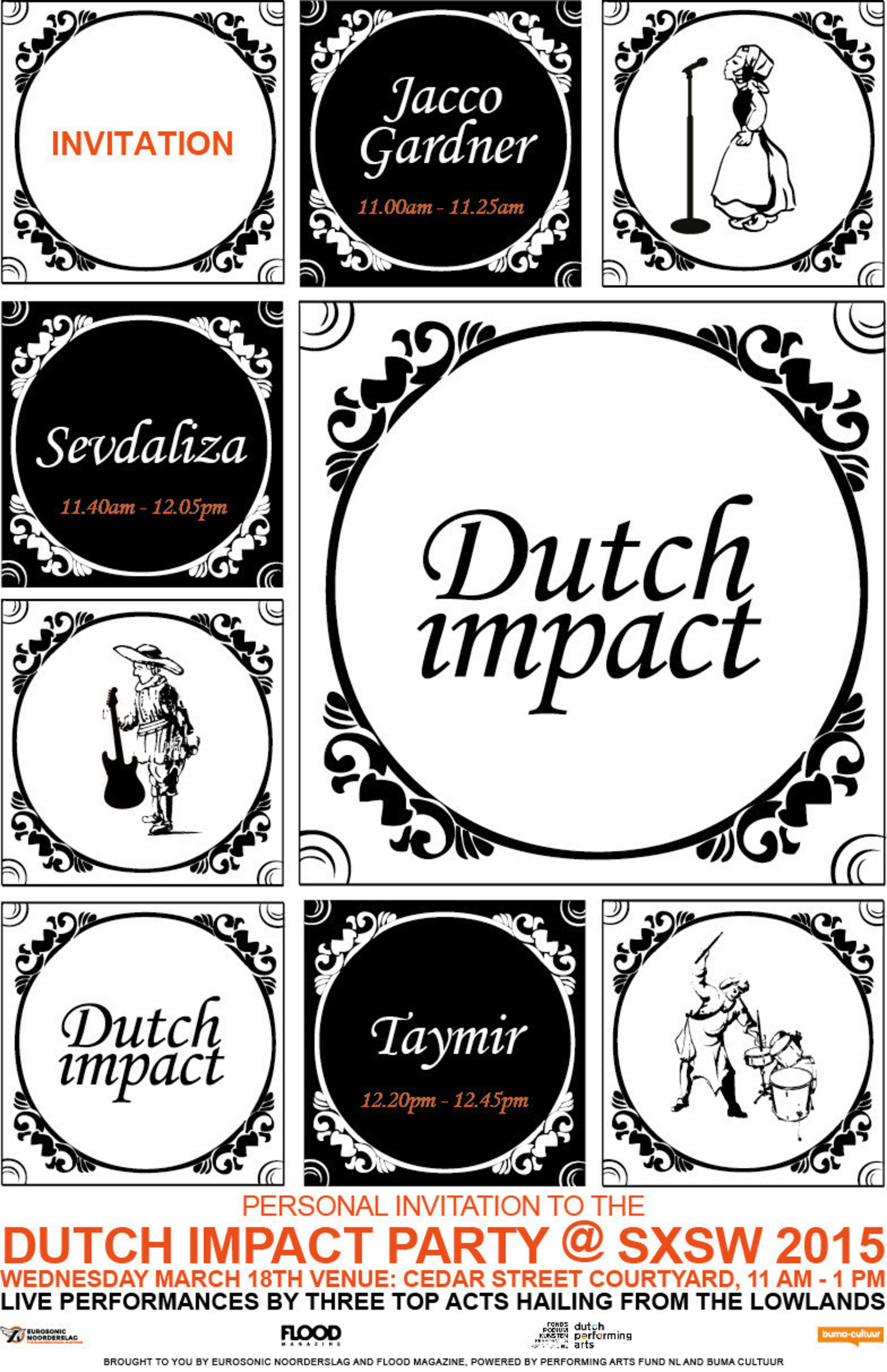 Dutch Impact Showcase at FLOODfest Brings Dotan, Jacco Gardner, Taymir and More to SXSW 2015