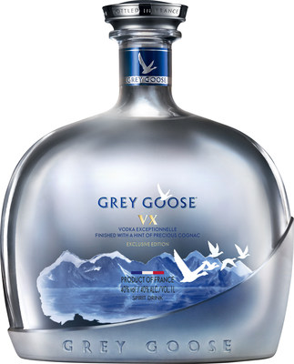 GREY GOOSE® VODKA PRESENTS GREY GOOSE® VX, A PIONEERING NEW SPIRIT