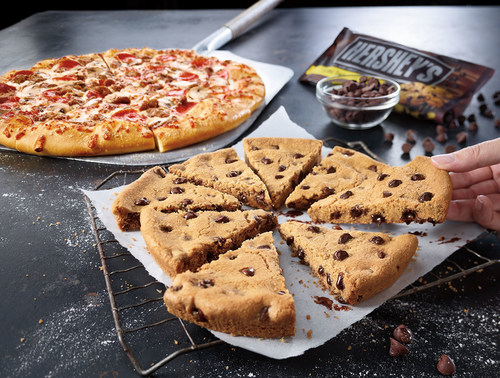 The Ultimate Hershey's Chocolate Chip Cookie, Now Available at Pizza Hut (PRNewsFoto/Pizza Hut)