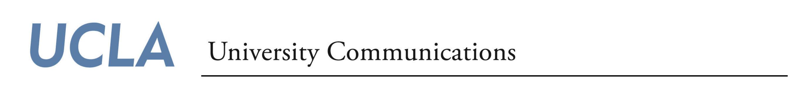 UCLA University Communications Logo
