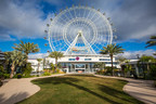The 400-foot-tall Orlando Eye stands at the center of I-drive 360.