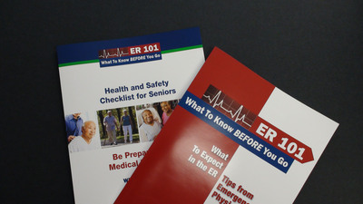 """""""ER 101"""" is designed to help get you through your ER experience as quickly and easily as possible.  (PRNewsFoto/American College of Emergency Physicians (ACEP))"""