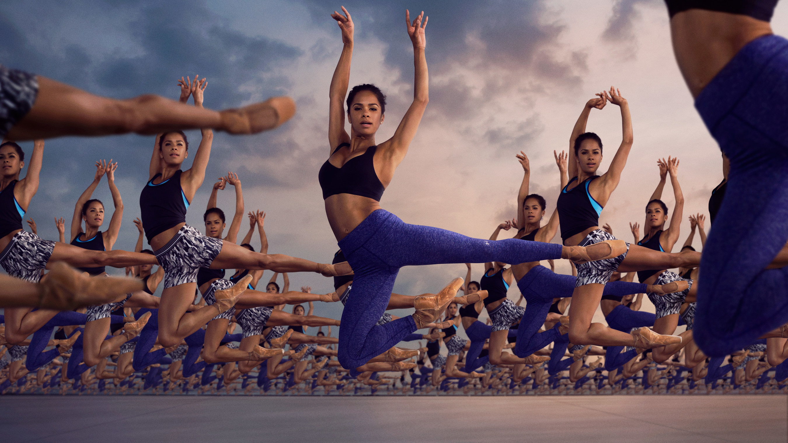 American Ballet Theatre(R) Principal dancer Misty Copeland in Under Armour's RULE YOURSELF campaign.