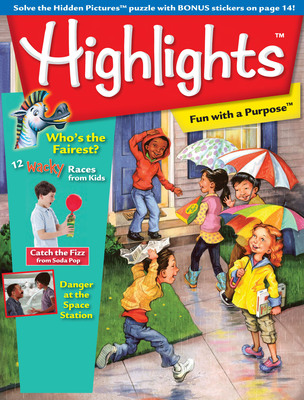 Highlights has introduced international editions of its flagship magazines for children, Highlights and High Five, designed specially for a global audience.  (PRNewsFoto/Highlights for Children, Inc.)