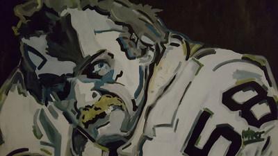 Jack Lambert by Jeff Rohrer