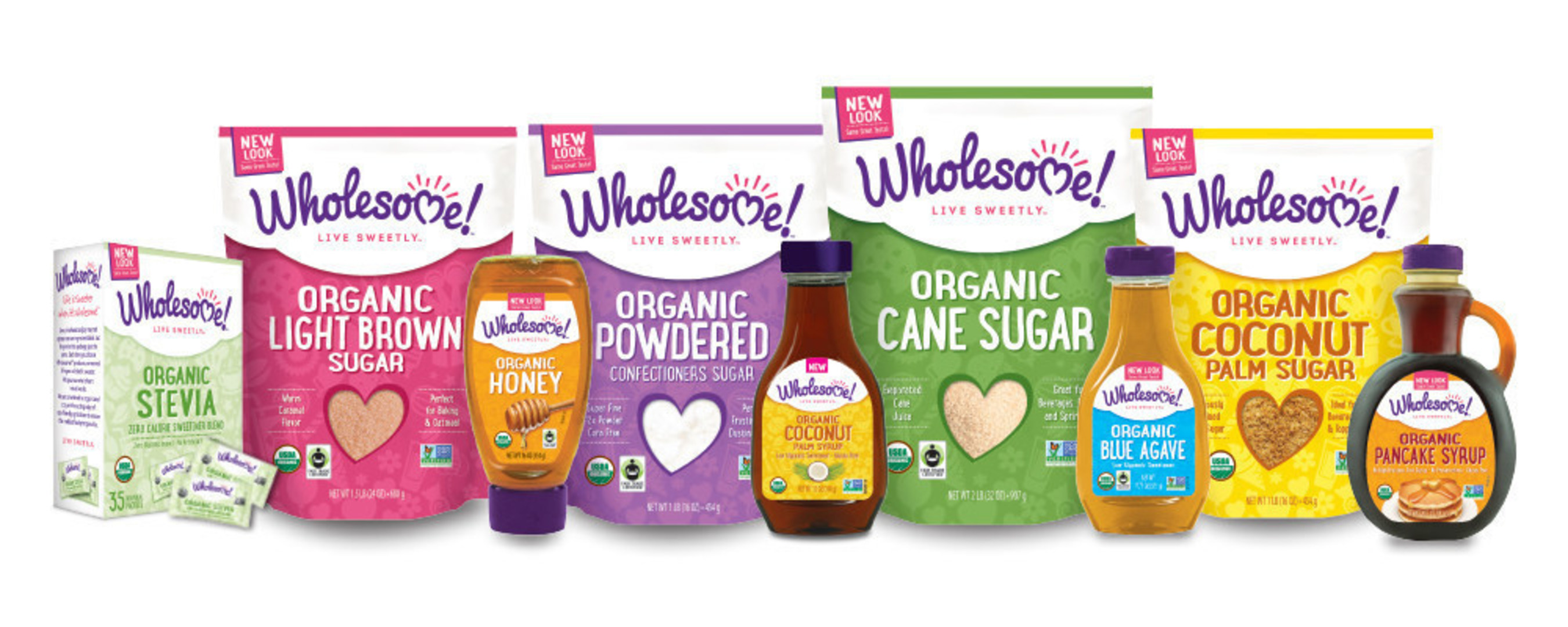 Wholesome Sweeteners, Inc.(R) is the owner of Wholesome!(TM), the largest supplier of Fair Trade, Organic and Non-GMO sugars, agaves, stevia, molasses and honey in North America. Wholesome Sweeteners, Inc. has been a longstanding pioneer in the organic sugar and sweeteners category, currently offering more than 40 retail skus in the United States and Canada under the Wholesome! name brand. Today, Wholesome Sweeteners, Inc. acquired organic candy company, TruSweets. Its brands, Surf Sweets and...