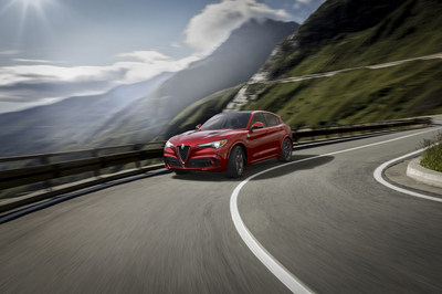 All-new 2018 Alfa Romeo Stelvio is revealed in front of the global media at the 2016 L.A. Auto Show