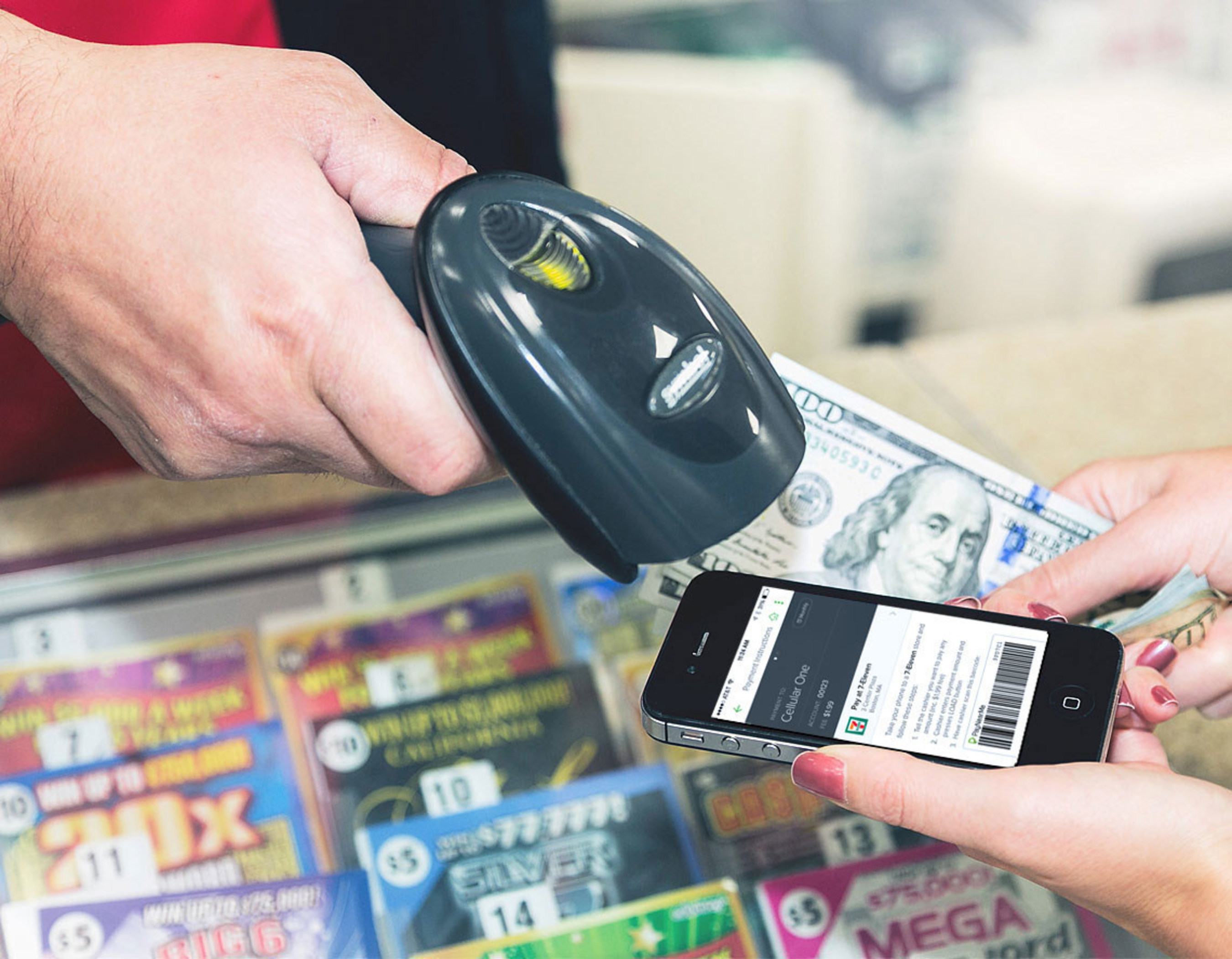 7-Eleven's new Bill Pay App operated by PayNearMe makes paying thousands of bills with cash convenient 24/7