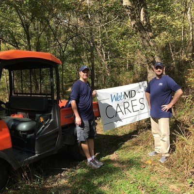 WebMD Cares Impact Day 2016 - Paul Mort and Damian Busicchia, Ashburn, VA-based employees, spent the day at the Banshee Reeks Nature Preserve.