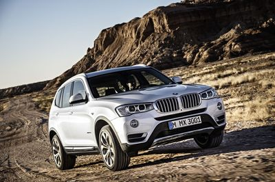 """The new BMW X3: more than a million have been sold since it was first introduced in 2003. Editorial use of this picture is free of charge. Please quote the source: """"obs/UWE FISCHER/BMW Group"""" (PRNewsFoto/BMW GROUP)"""