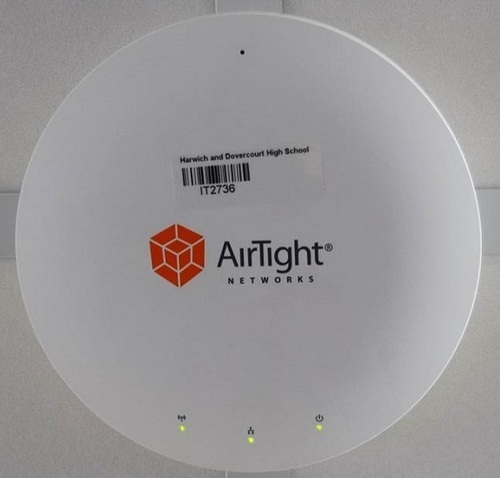 AirTight Wi-Fi provide the school with fast and secure access (PRNewsFoto/AirTight Networks)