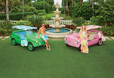 Lilly Pulitzer fantasy car