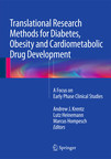 Newly published textbook, a critical review of current and emerging early phase clinical investigation methodologies for diabetes, obesity and cardiometabolic drug development