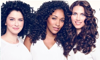 New Dove Quench Absolute Perfectly nourished hair + 4X more defined*, natural curls