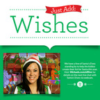 Michaels Just Add Wishes site.  (PRNewsFoto/Michaels Stores, Inc.)