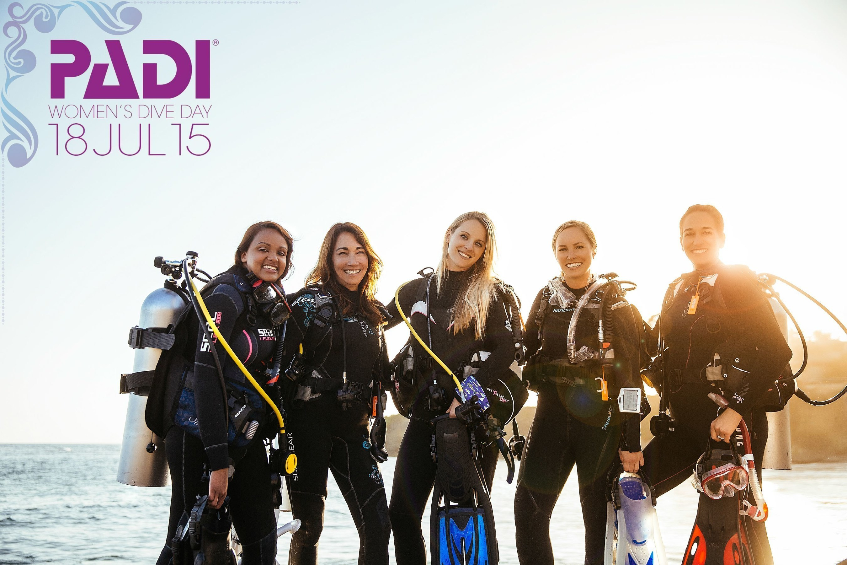 PADI Launches Inaugural Women's Dive Day, July 18