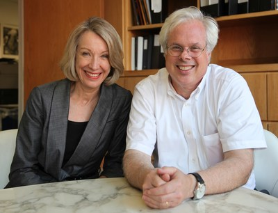 Wendy Lane, Managing Partner, Finn Partners; Peter Finn, Founding Partner, Finn Partners