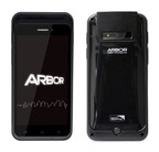Arbor Solution Gladius 5 rugged Android tablet and smartphone for healthcare.