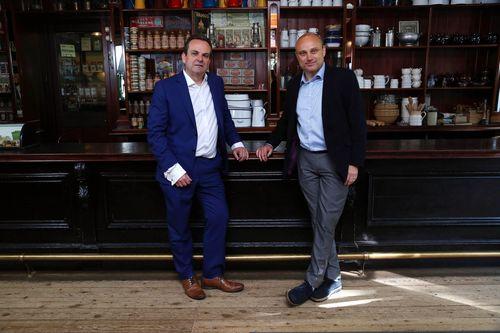 Left to right - Chris McElligott Head of Marketing at UIA Ian Cracknell CEO of UIA (PRNewsFoto/UIA Insurance)