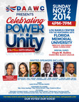 "DAAWC: ""Celebrating Power In Unity"", A Mass GOTV Rally!"