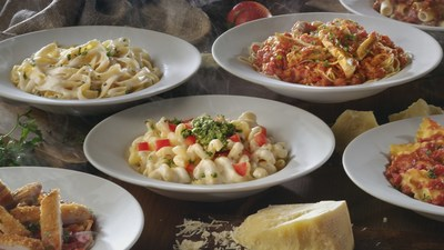 Olive garden introduces never ending family time with new pasta pass for Olive garden endless pasta bowl