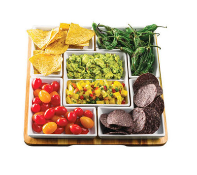 Berkley Jensen 6 Piece Serving Tray