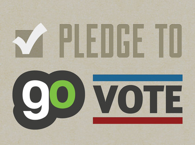 Pledge to GO Vote.  (PRNewsFoto/Generation Opportunity)
