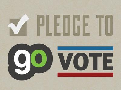 Pledge to GO Vote.  (PRNewsFoto/Generation Opportunity)