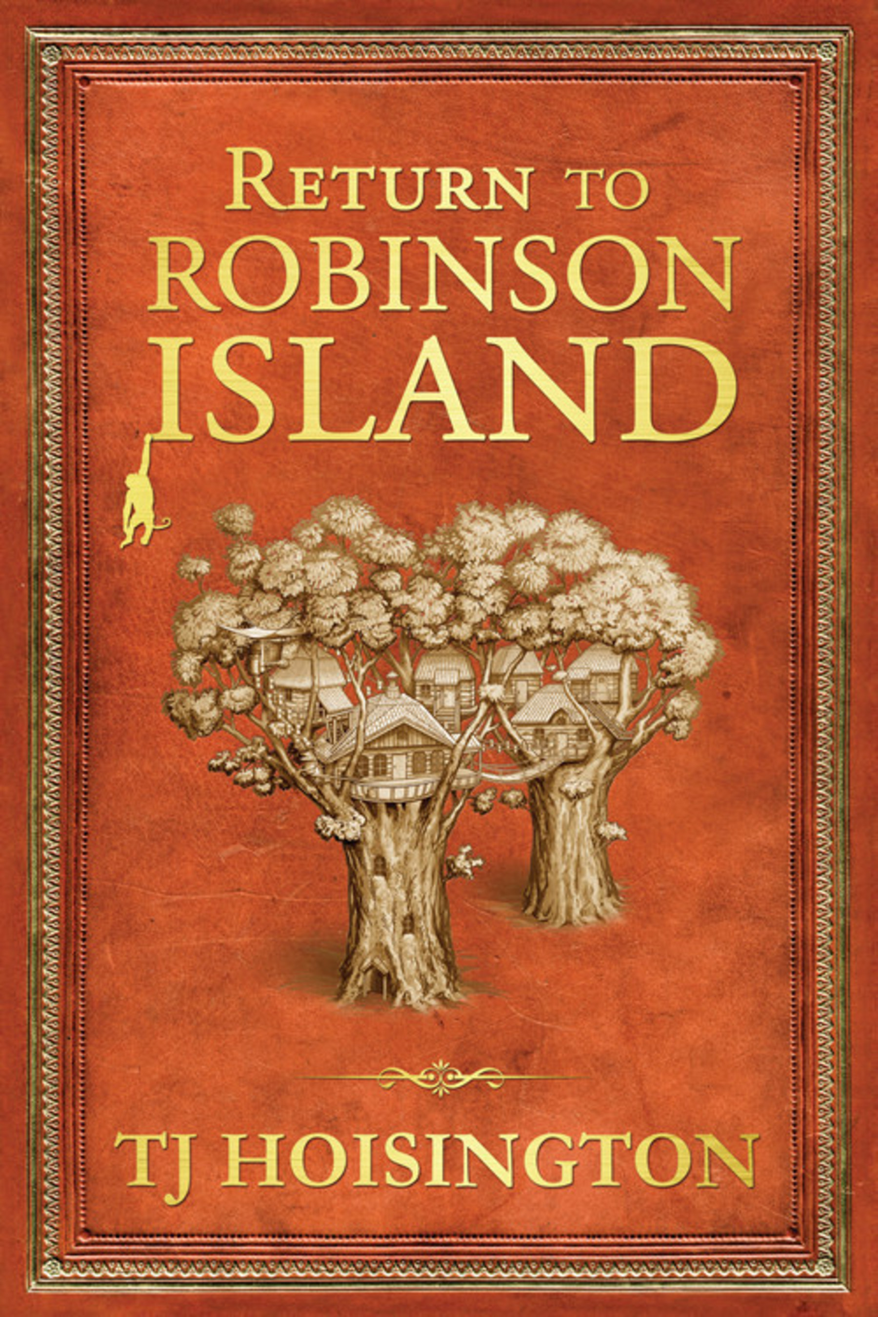 Return to Robinson Island book cover
